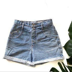 Vintage Arizona Ultra High Rise Jean, Denim Shorts